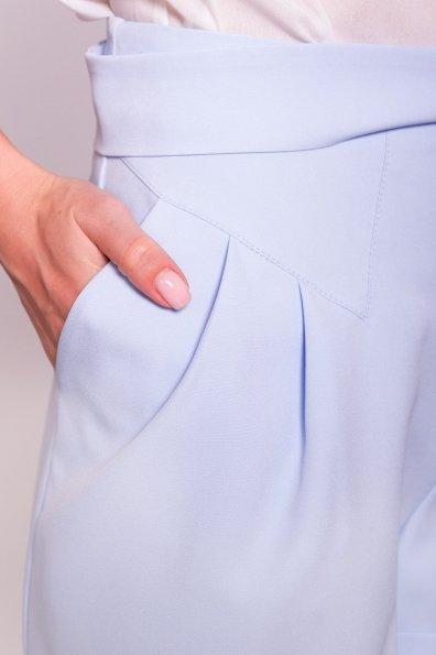 Однотонные шорты Камю 7329 Цвет: Голубой 12