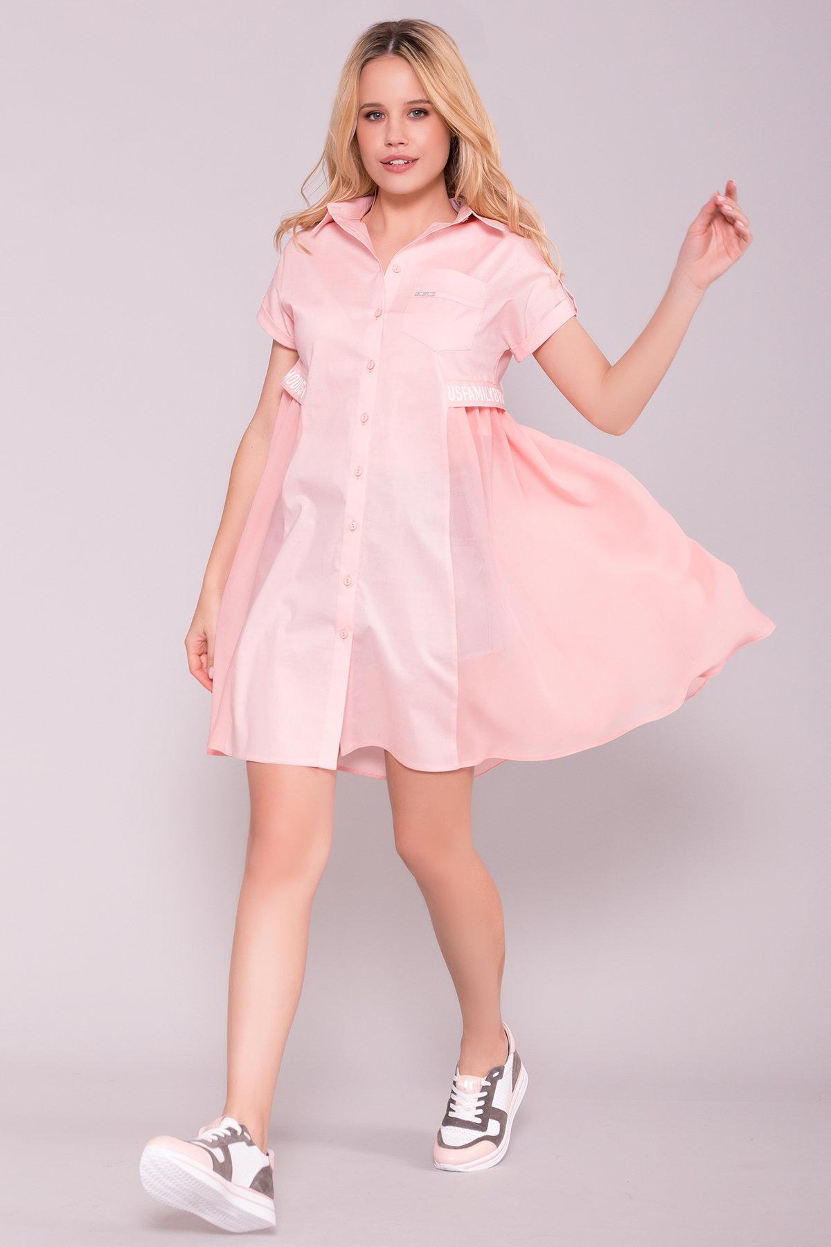 Платья оптом Платье-рубашка Саби  7268