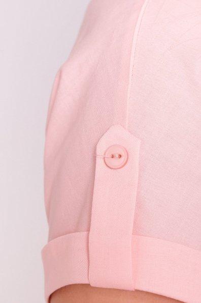 Платье-рубашка Саби  7268 Цвет: Пудра