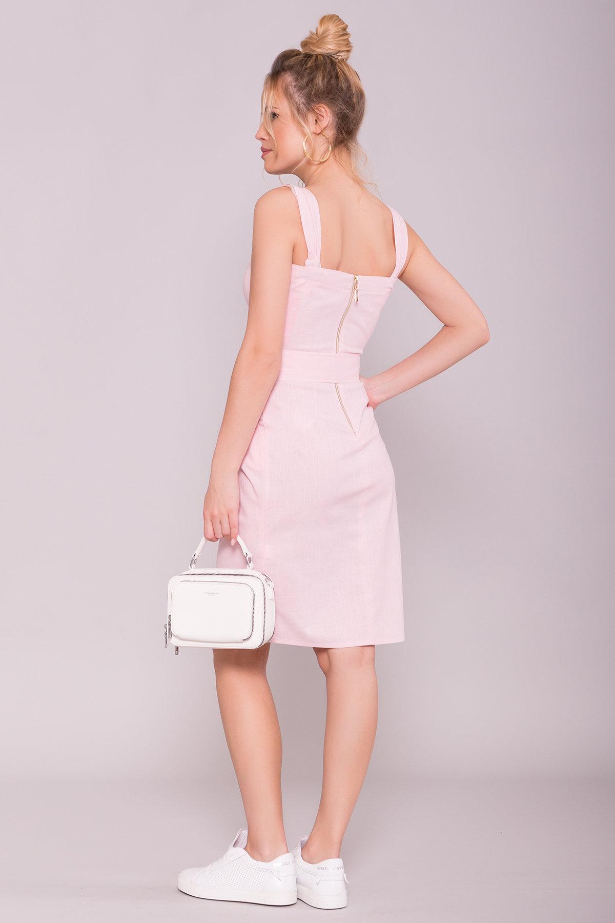 Платье Унгаро 7274 АРТ. 43068 Цвет: Розовый - фото 2, интернет магазин tm-modus.ru
