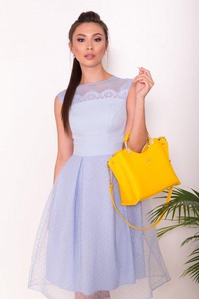 Платье Зарина 6989 Цвет: Голубой
