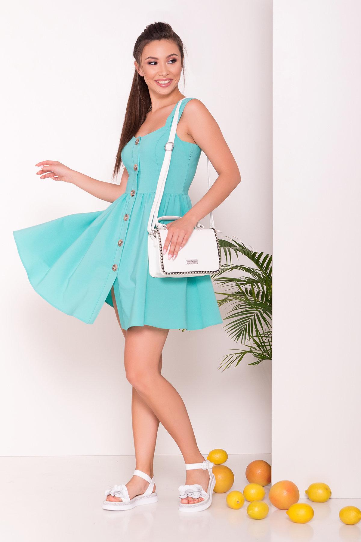 Платье Джонни 7413 АРТ. 43201 Цвет: Мята - фото 2, интернет магазин tm-modus.ru
