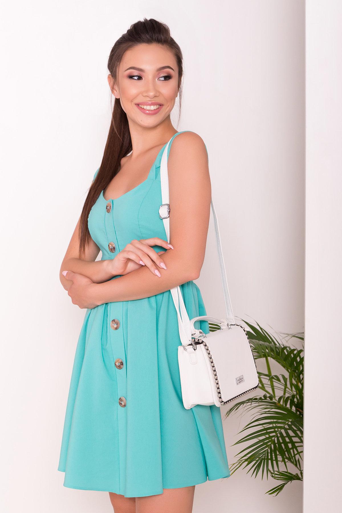 Платье Джонни 7413 АРТ. 43201 Цвет: Мята - фото 3, интернет магазин tm-modus.ru