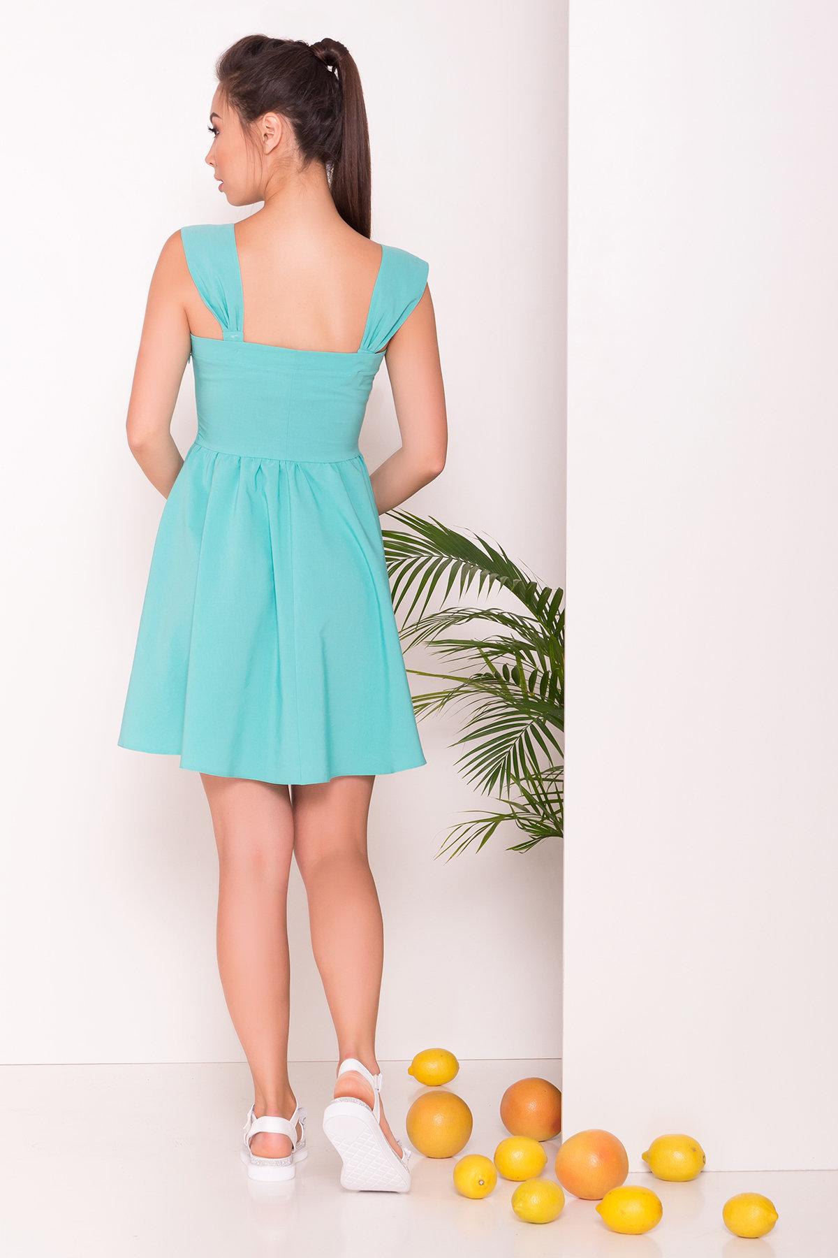 Платье Джонни 7413 АРТ. 43201 Цвет: Мята - фото 4, интернет магазин tm-modus.ru