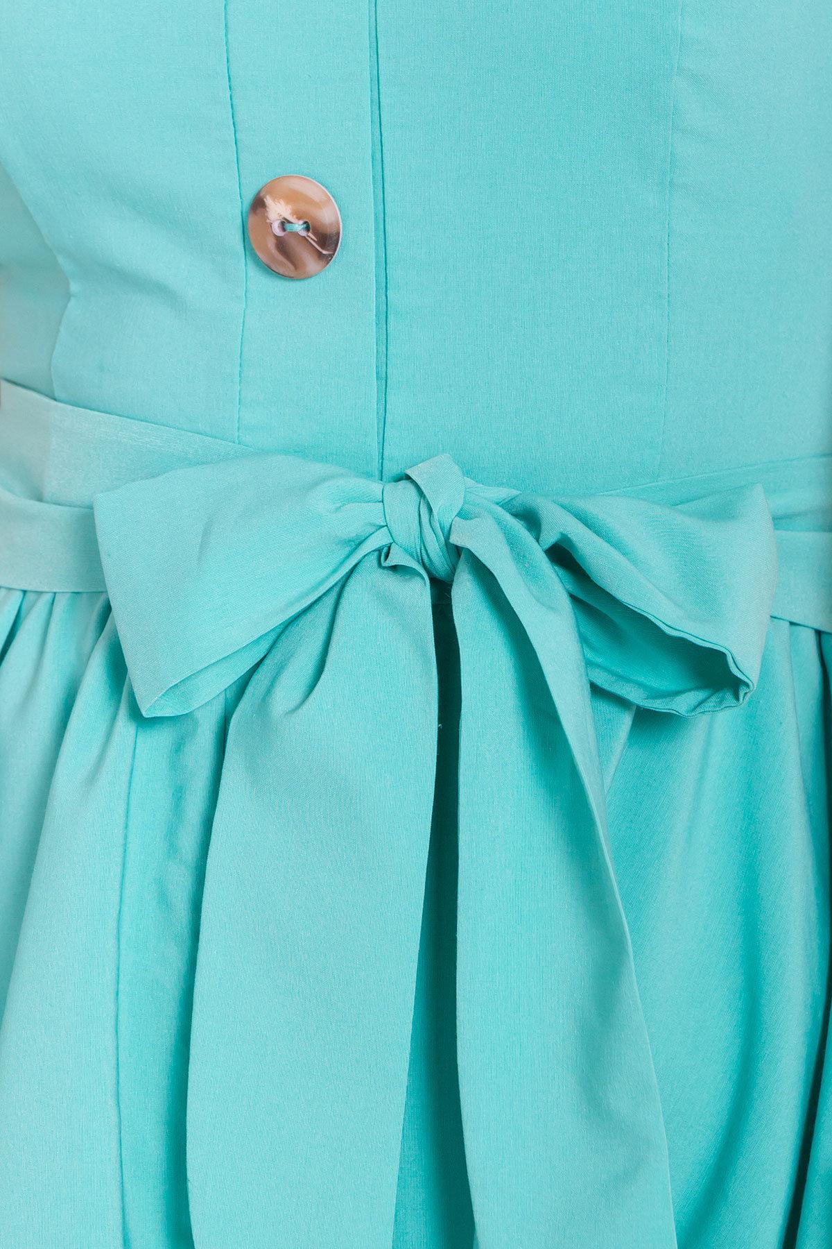 Платье Джонни 7413 АРТ. 43201 Цвет: Мята - фото 5, интернет магазин tm-modus.ru