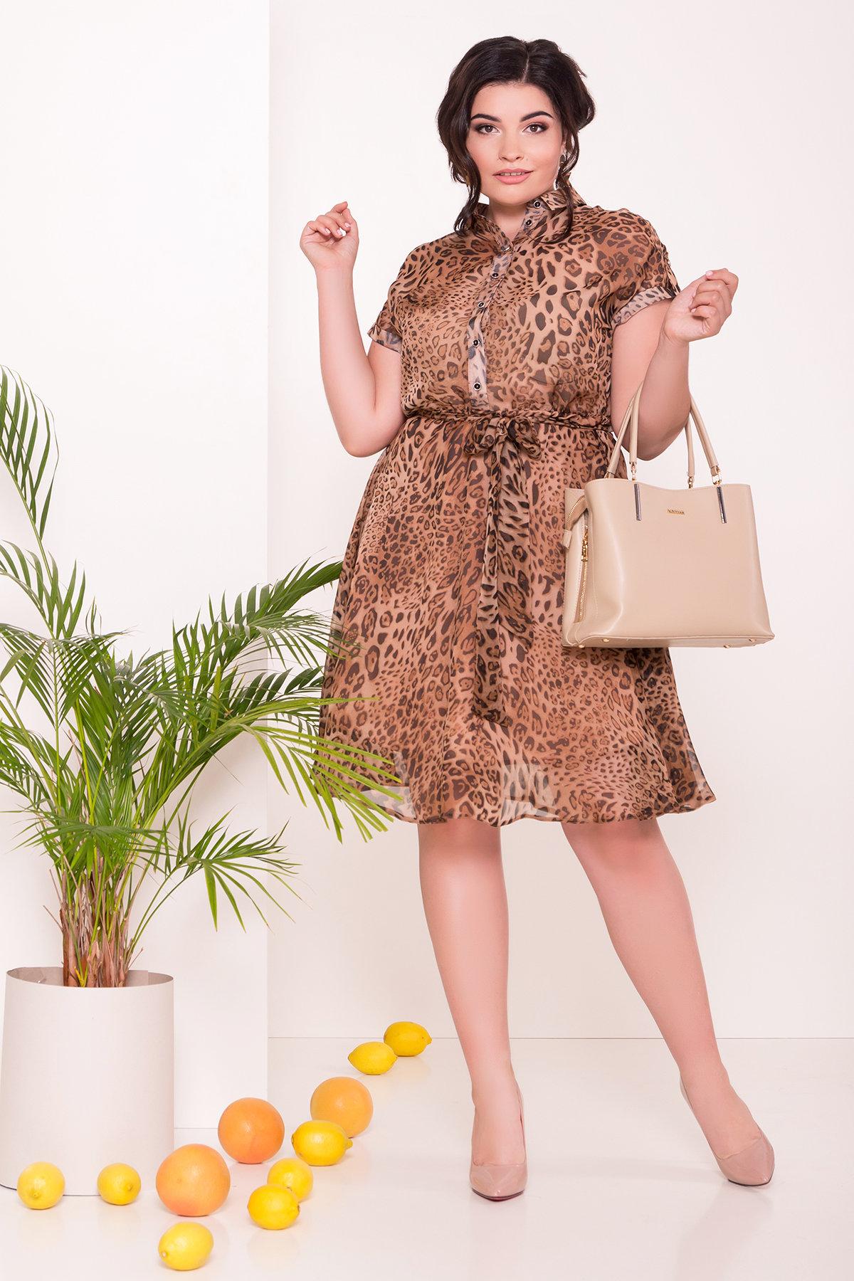 платья больших размеров Украина Платье Санжар Donna 7354