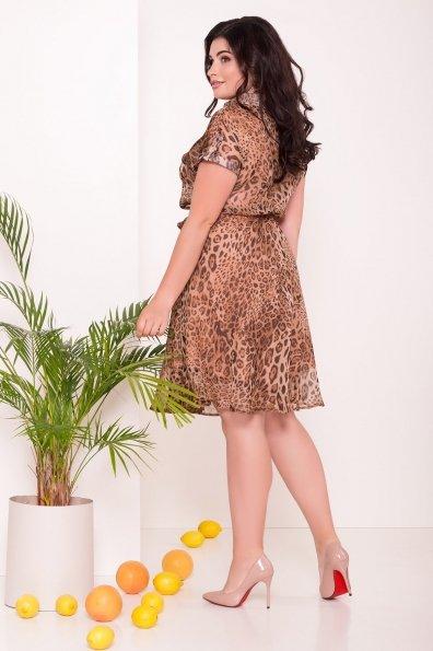 Платье Санжар Donna 7354 Цвет: Леопард 1