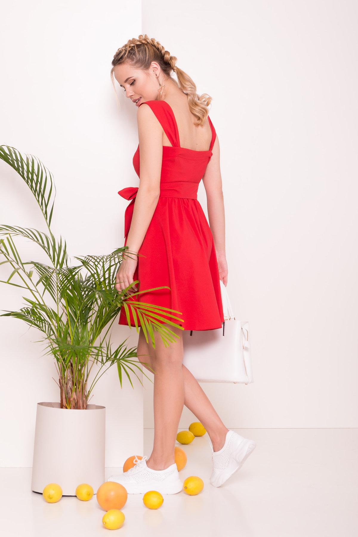 Платье Джонни 7413 Цвет: Красный