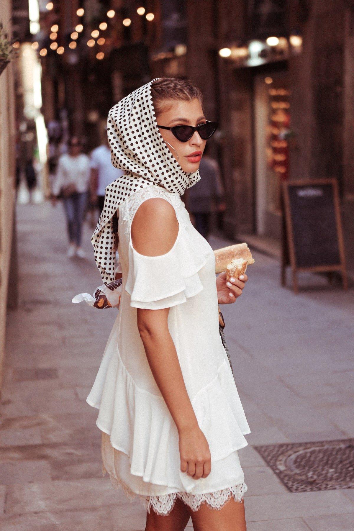 Платье Вито  7003 АРТ. 42411 Цвет: Молоко - фото 5, интернет магазин tm-modus.ru