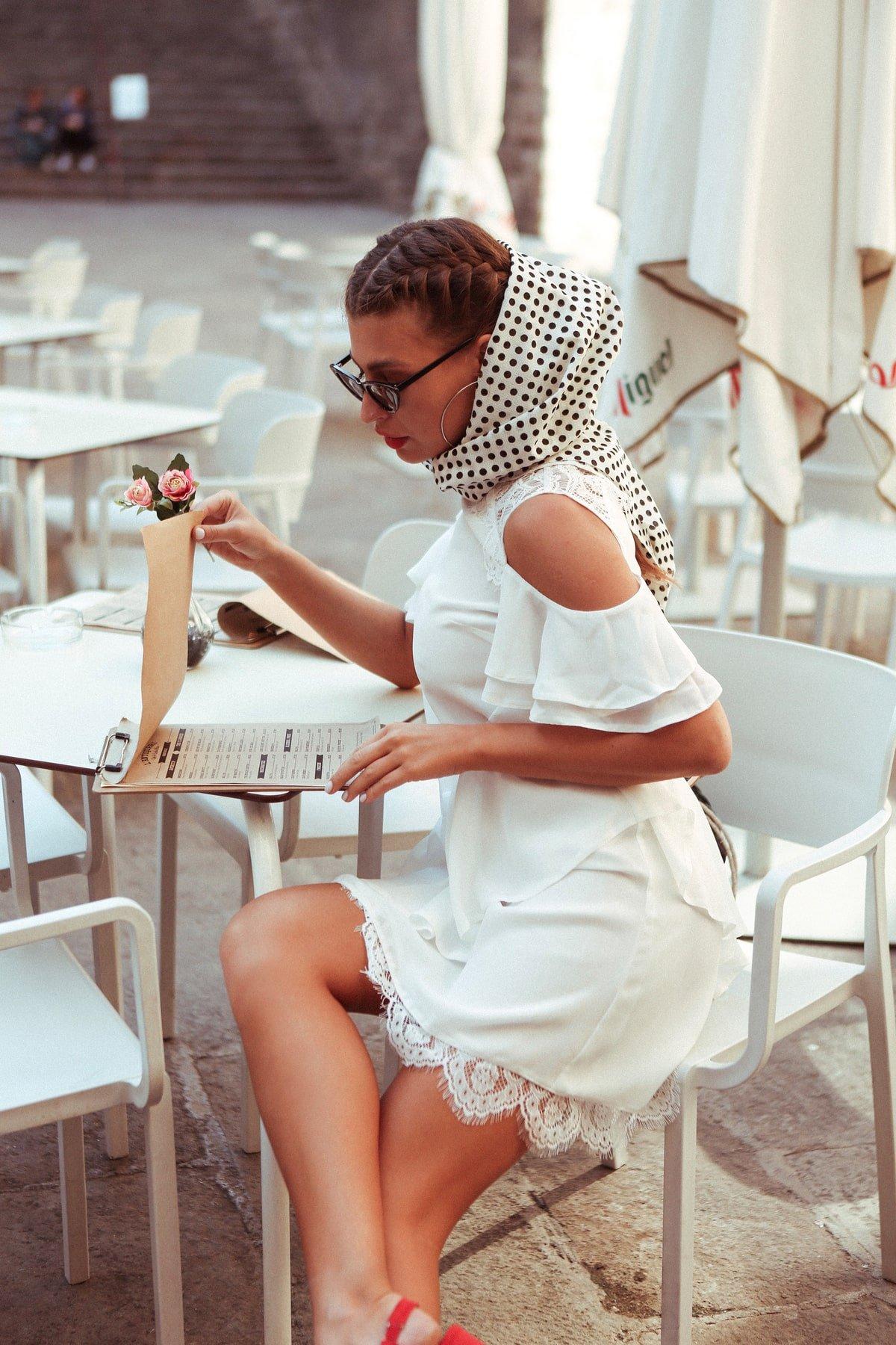 Платье Вито  7003 АРТ. 42411 Цвет: Молоко - фото 10, интернет магазин tm-modus.ru