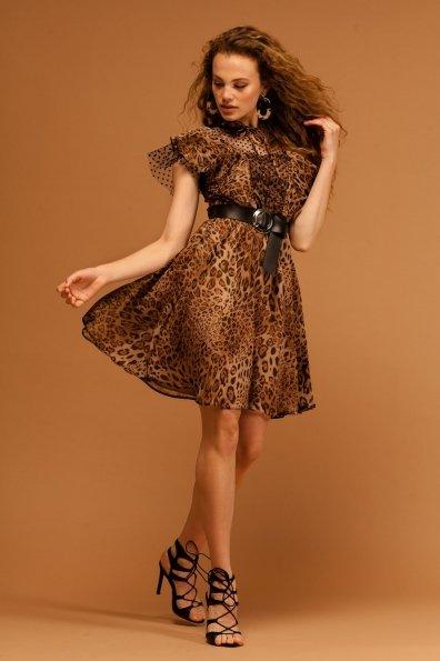 Платье Дали 7251 Цвет: Леопард 1