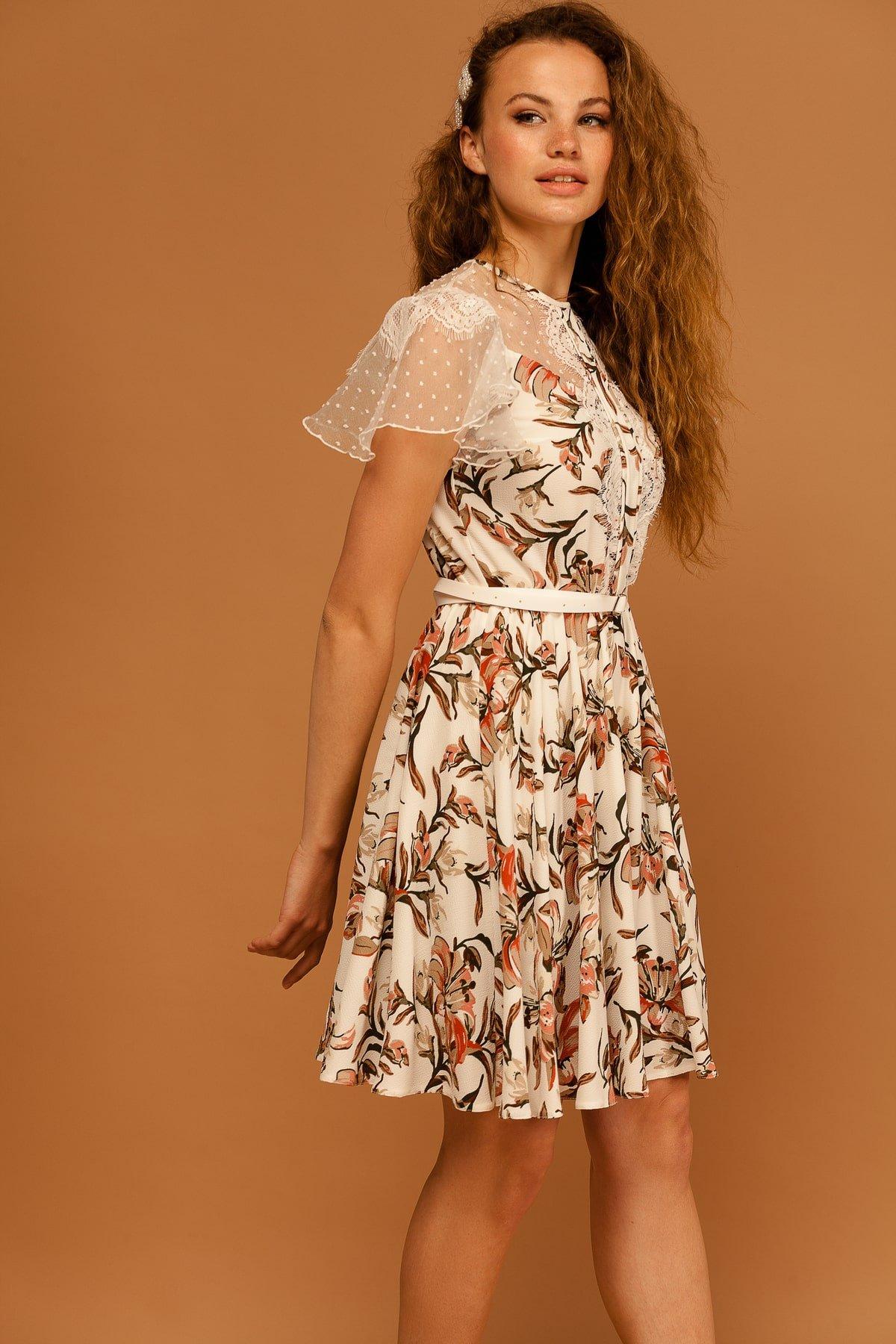Купить платья оптом TM Modus Легкое Платье Ламара 7221