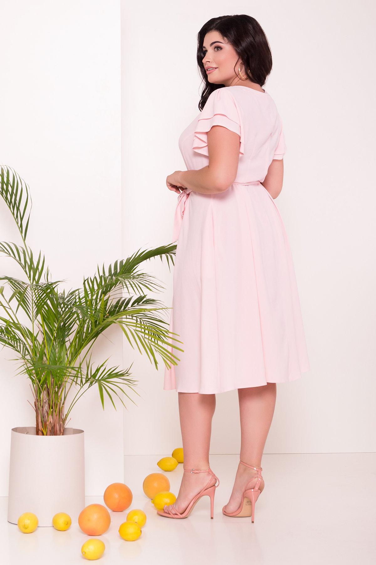 Платье Аделиса DONNA 7355 АРТ. 43166 Цвет: Розовый Светлый - фото 2, интернет магазин tm-modus.ru