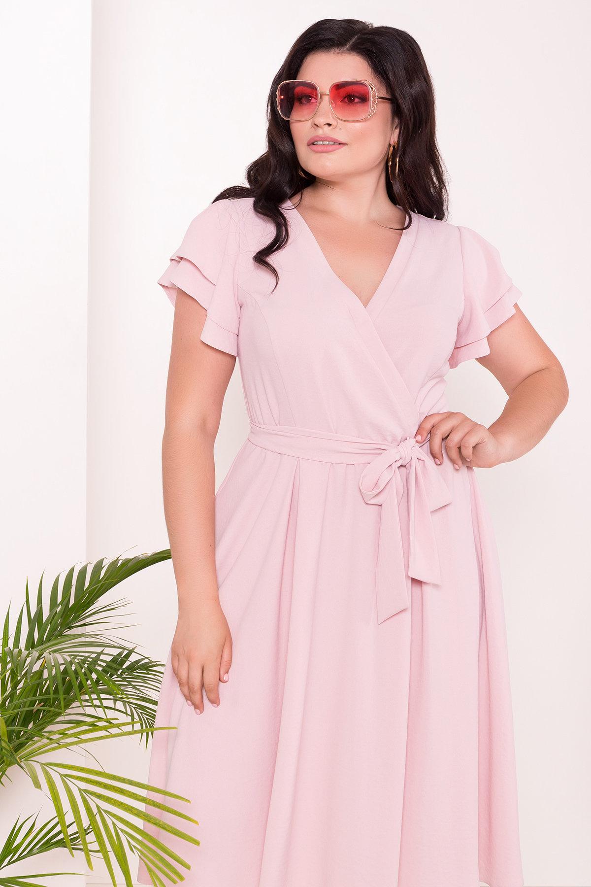 Платье Аделиса DONNA 7355 АРТ. 43165 Цвет: Розовый - фото 3, интернет магазин tm-modus.ru