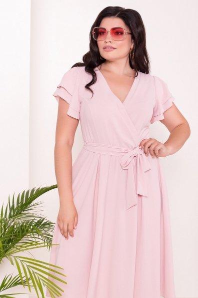 Платье Аделиса DONNA 7355 Цвет: Розовый