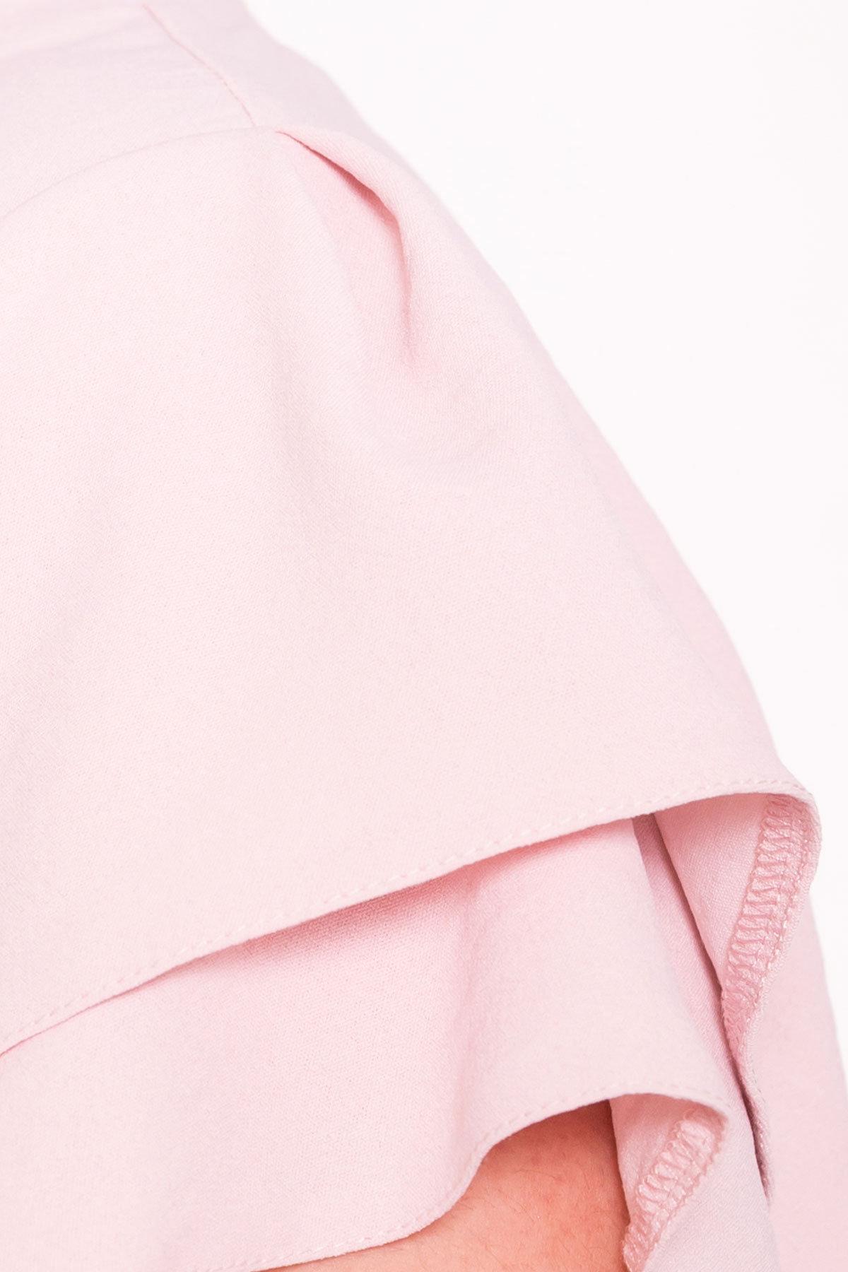 Платье Аделиса DONNA 7355 АРТ. 43165 Цвет: Розовый - фото 4, интернет магазин tm-modus.ru