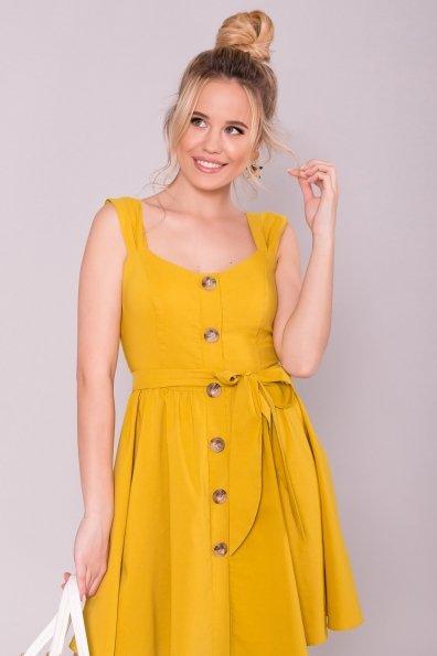 Платье Джонни 7413 Цвет: Горчица