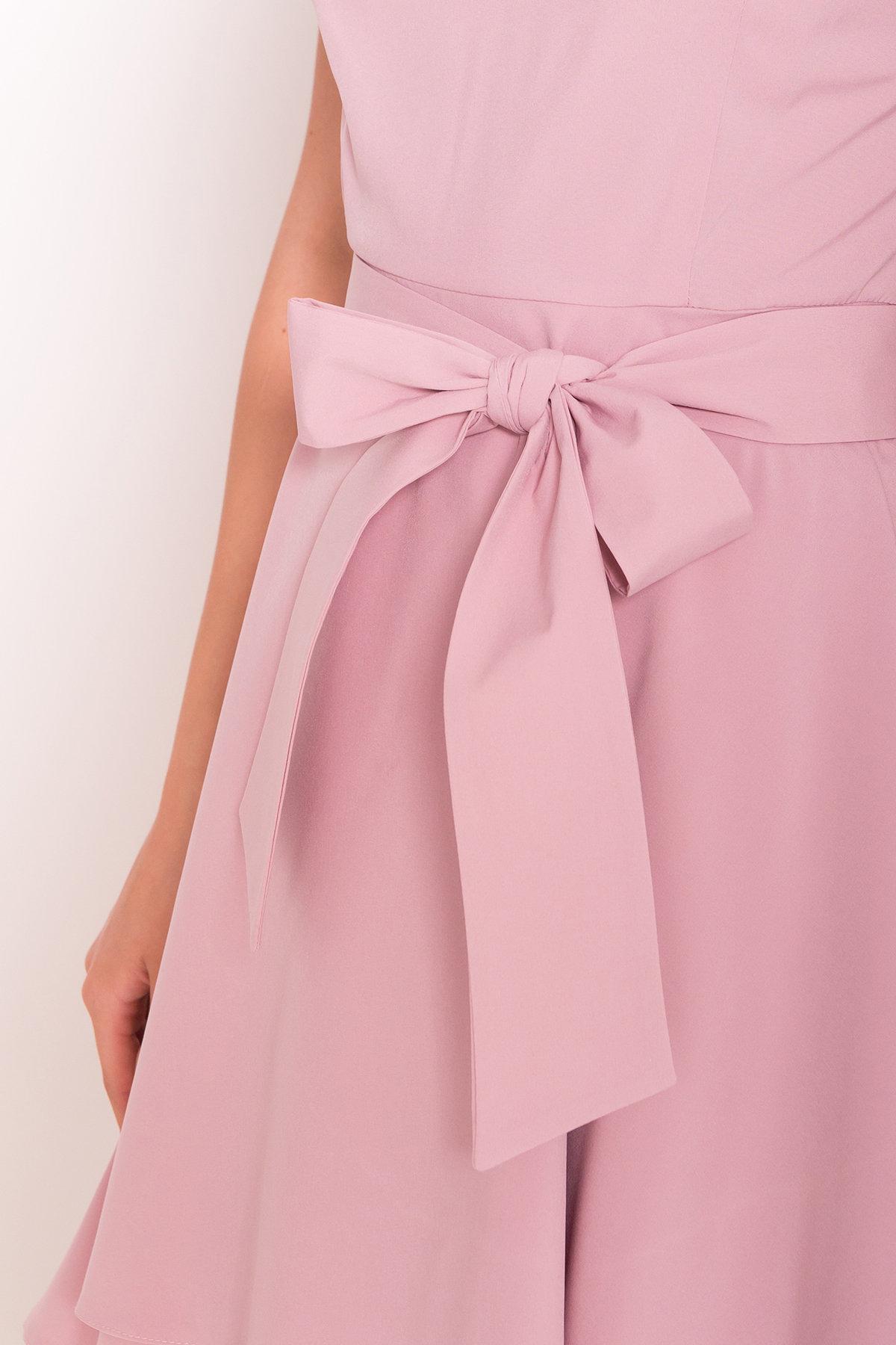 Платье Нимфа лайт  7455 Цвет: Пудра Темная