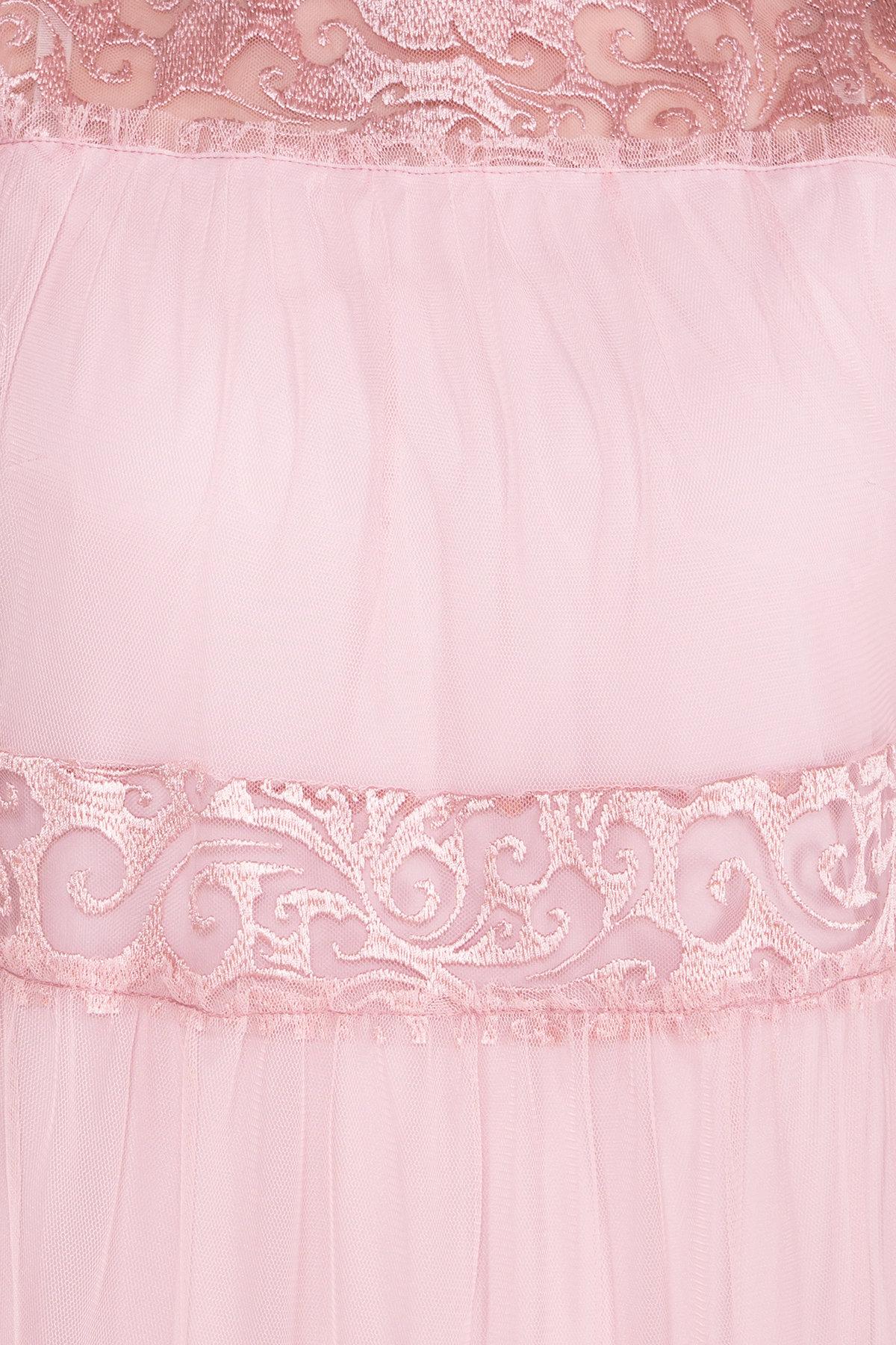 Платье Френсис  6485 АРТ. 41446 Цвет: Серо-розовый - фото 4, интернет магазин tm-modus.ru