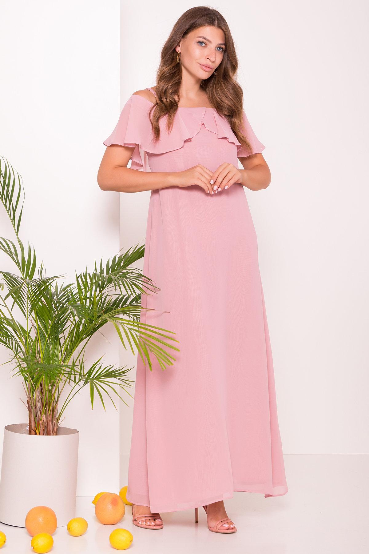 Платье Пикабу 7449 АРТ. 43242 Цвет: Пудра - фото 2, интернет магазин tm-modus.ru
