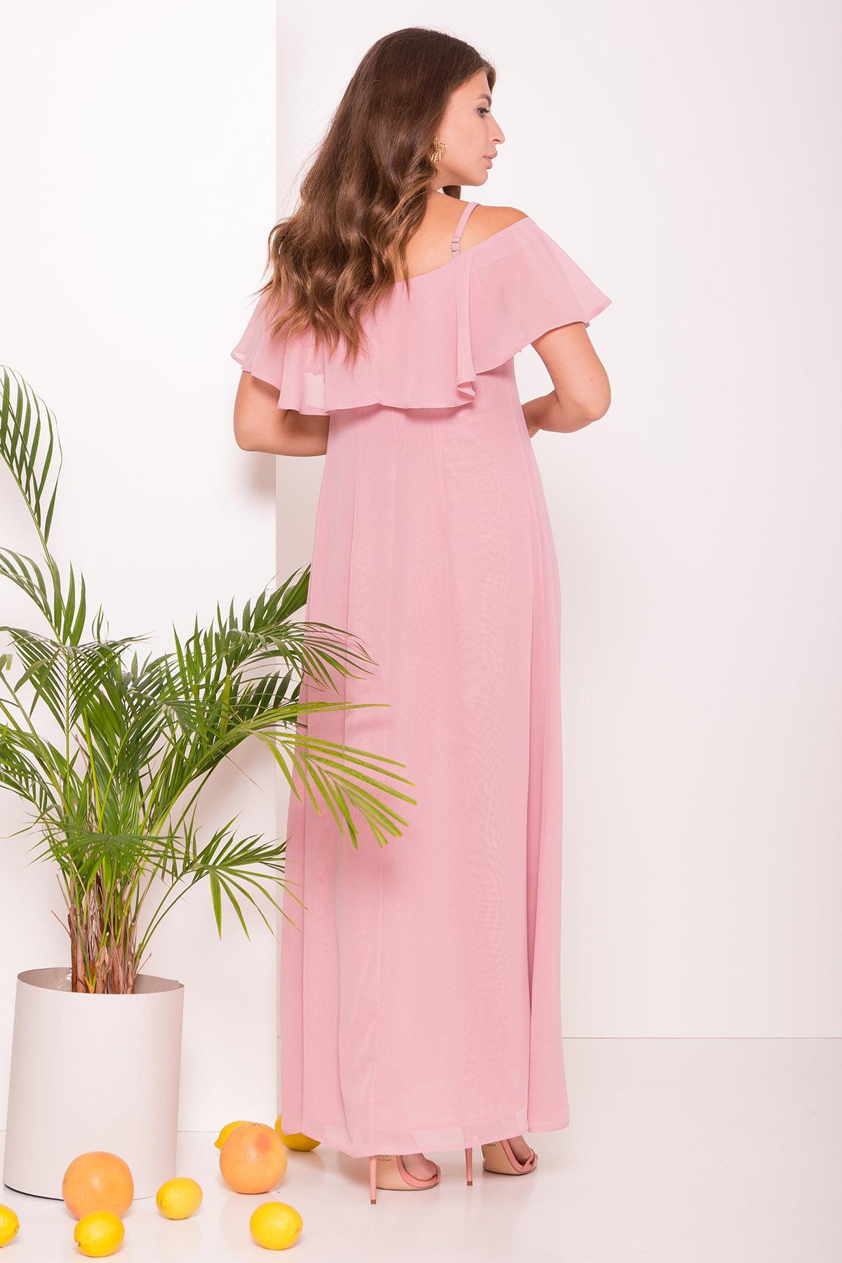 Платье Пикабу 7449 АРТ. 43242 Цвет: Пудра - фото 3, интернет магазин tm-modus.ru