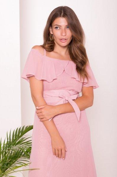 Платье Пикабу 7449 Цвет: Пудра