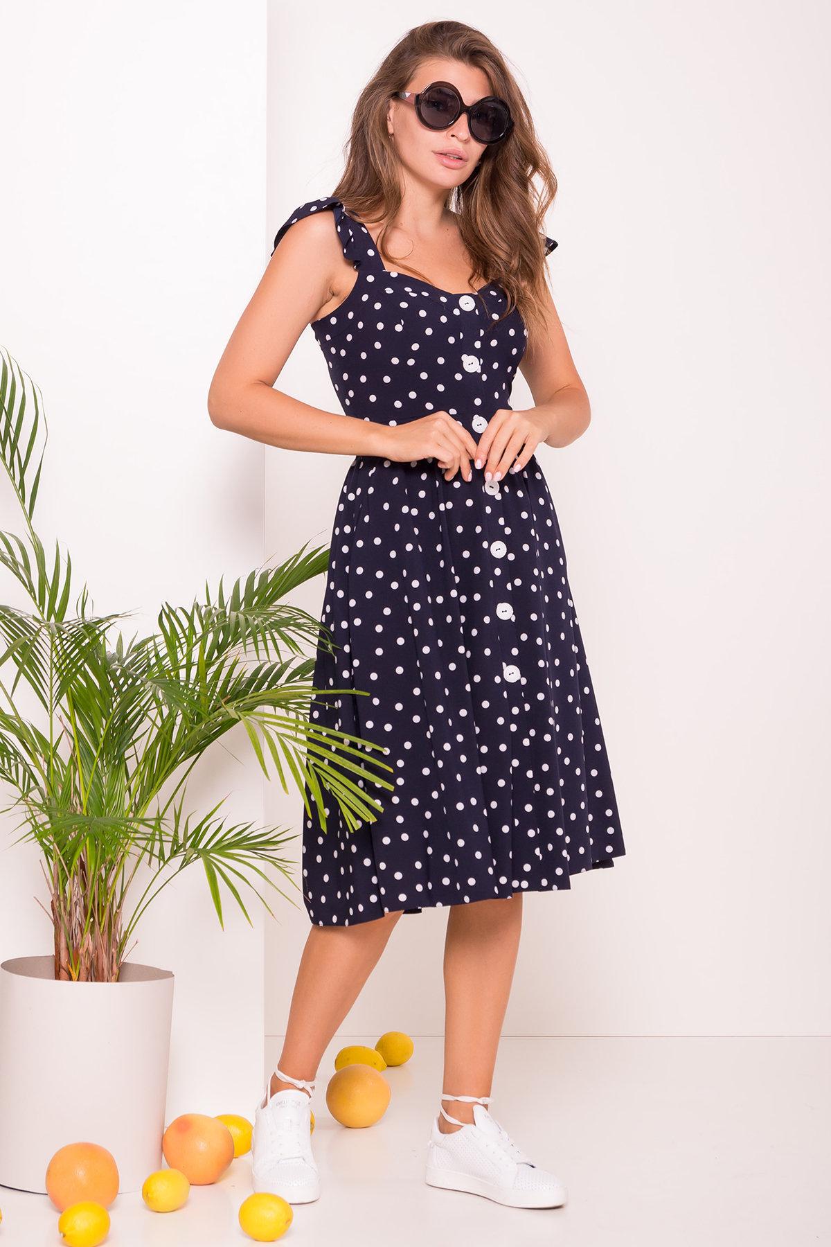 Купить женское платье Платье в горошек Ундина 7520