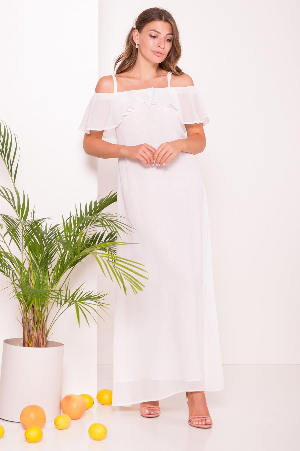 Платье Пикабу 7449 АРТ. 43244 Цвет: Молоко - фото 3, интернет магазин tm-modus.ru