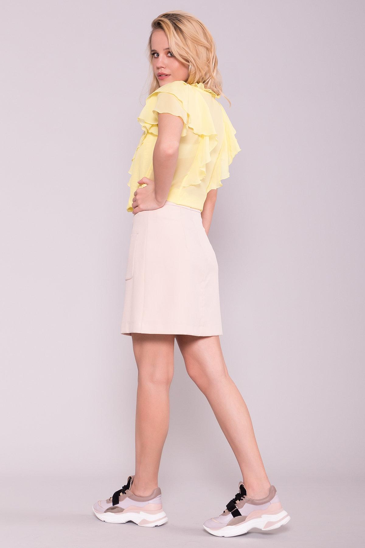 Блуза Дайан 7235 Цвет: Желтый