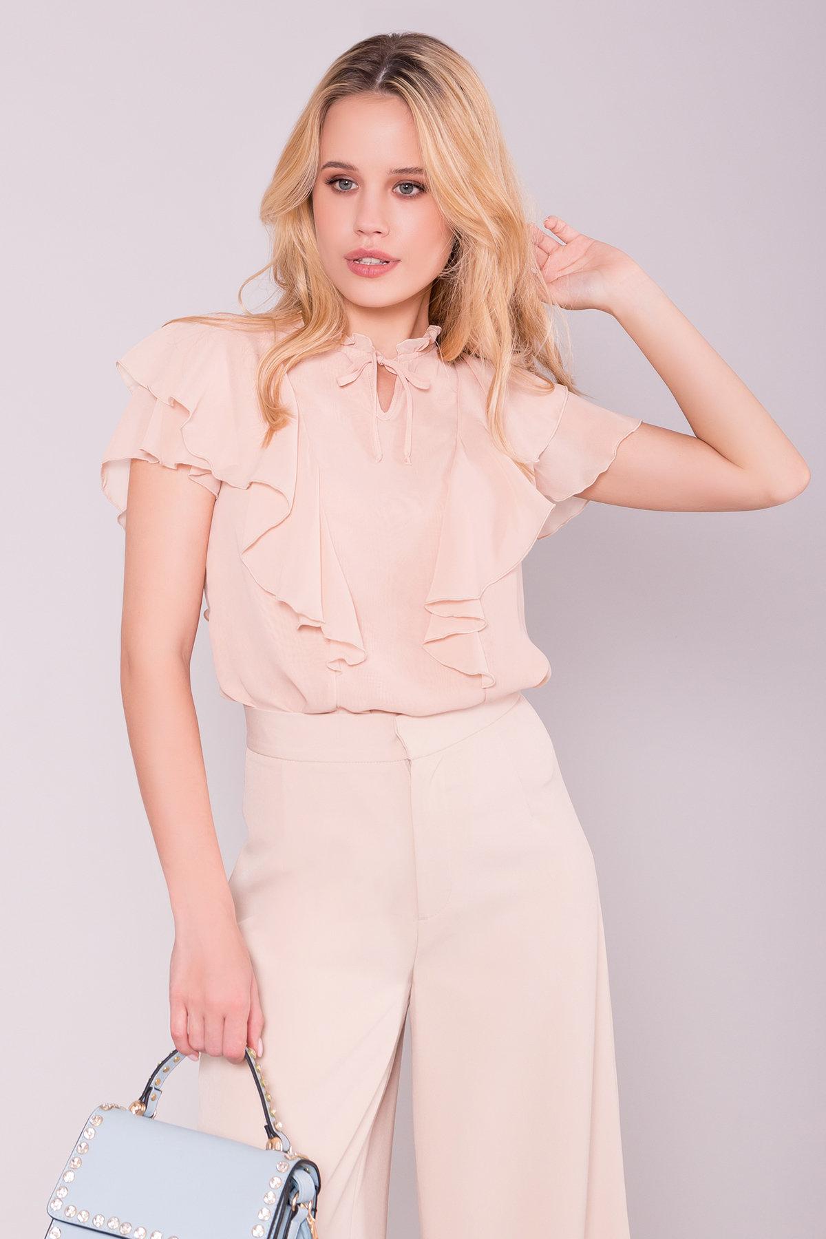 Блуза Дайан 7235 Цвет: Бежевый