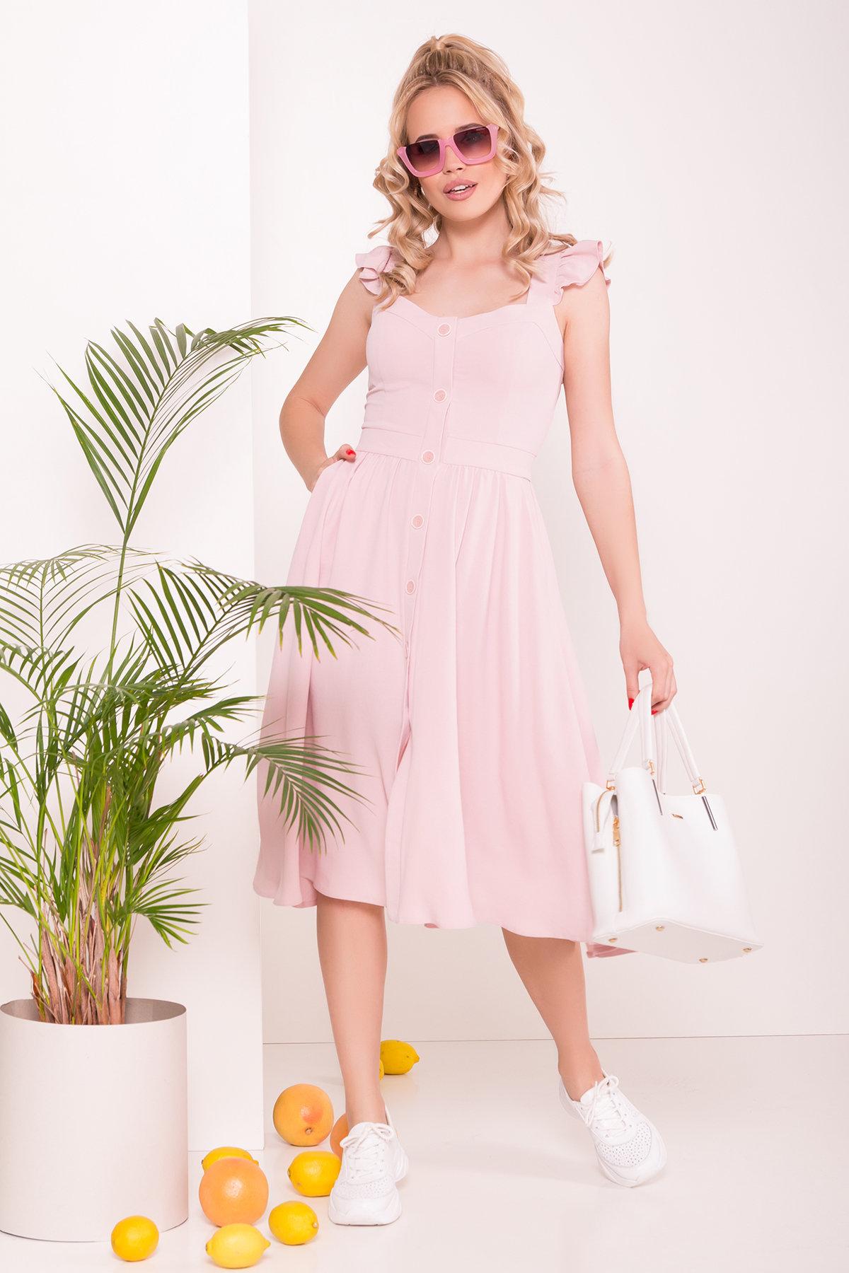 Платье Ундина 7410 Цвет: Розовый 16