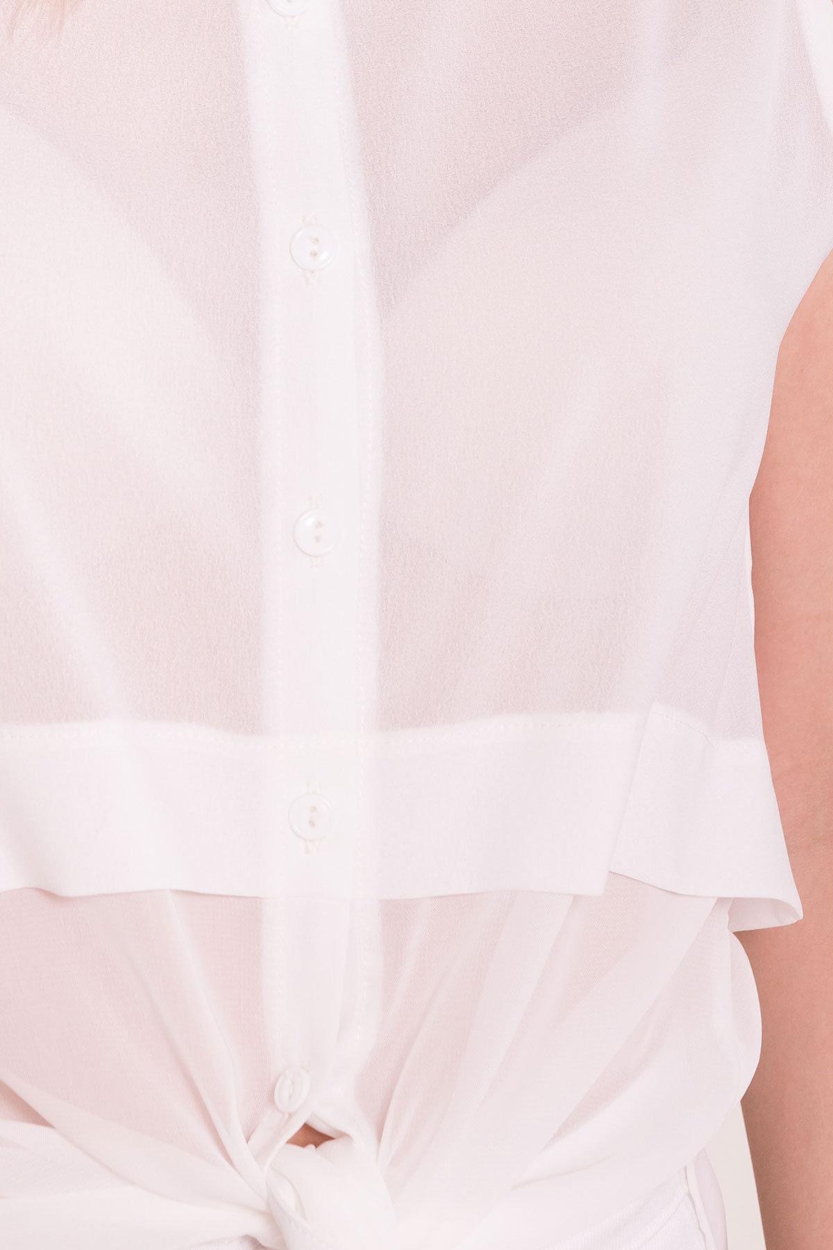 Рубашка без рукавов Дива 7532 Цвет: Молоко