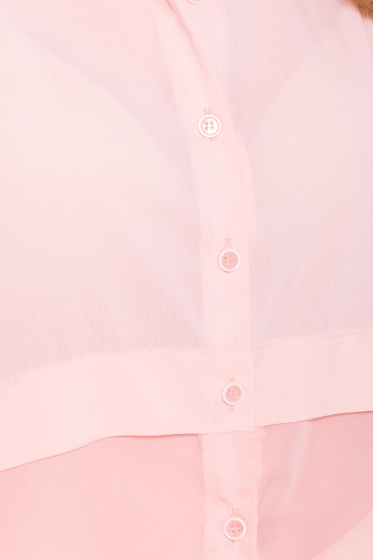 Рубашка без рукавов Дива 7532 АРТ. 43438 Цвет: Персик - фото 4, интернет магазин tm-modus.ru