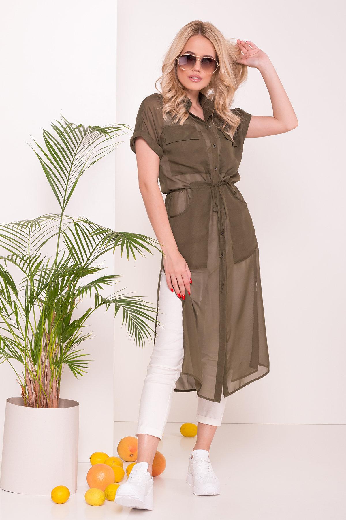 Платья от производителя Платье-рубашка Эриал 7544