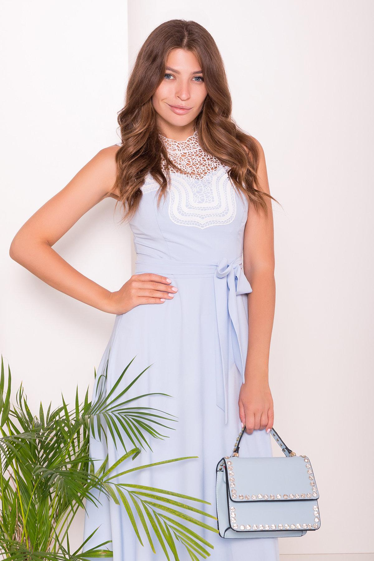 Платье Элисиас 7540 Цвет: Голубой