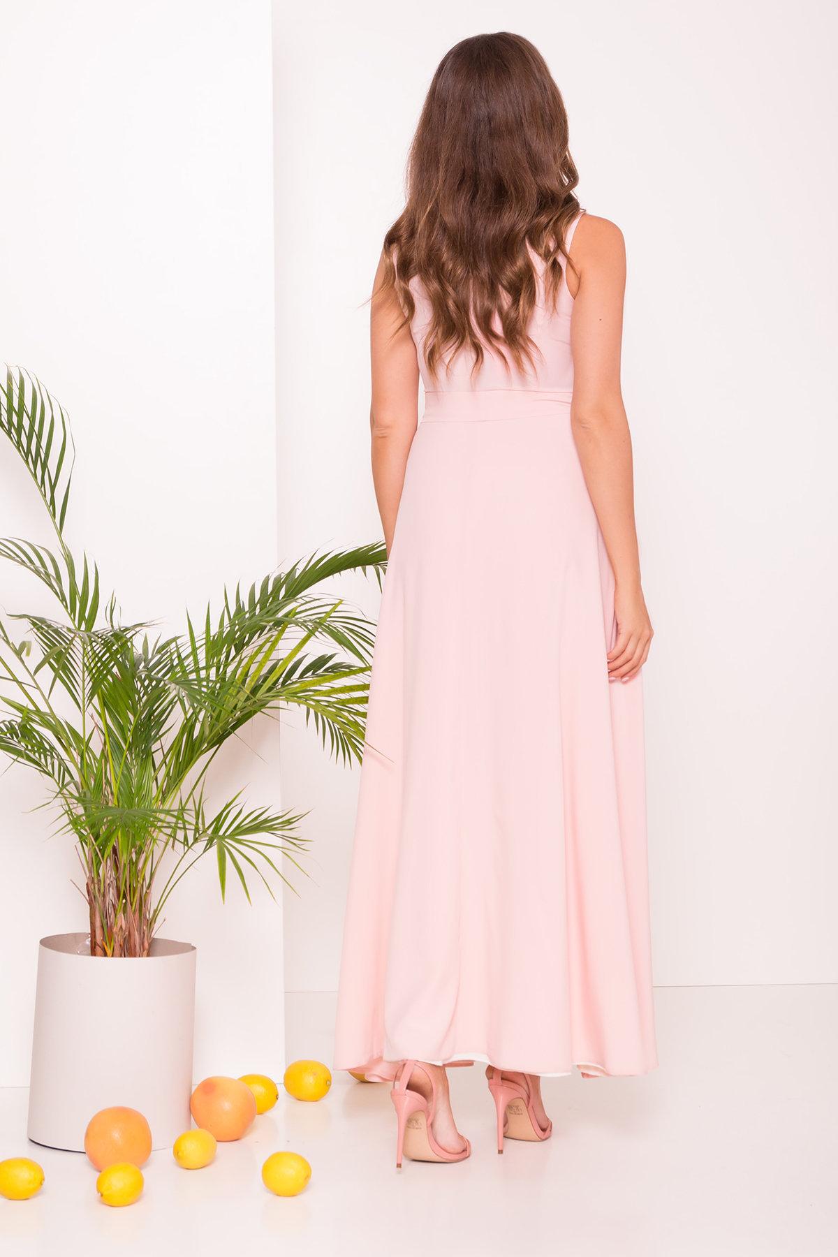 Платье Элисиас 7540 АРТ. 43463 Цвет: Персик - фото 2, интернет магазин tm-modus.ru