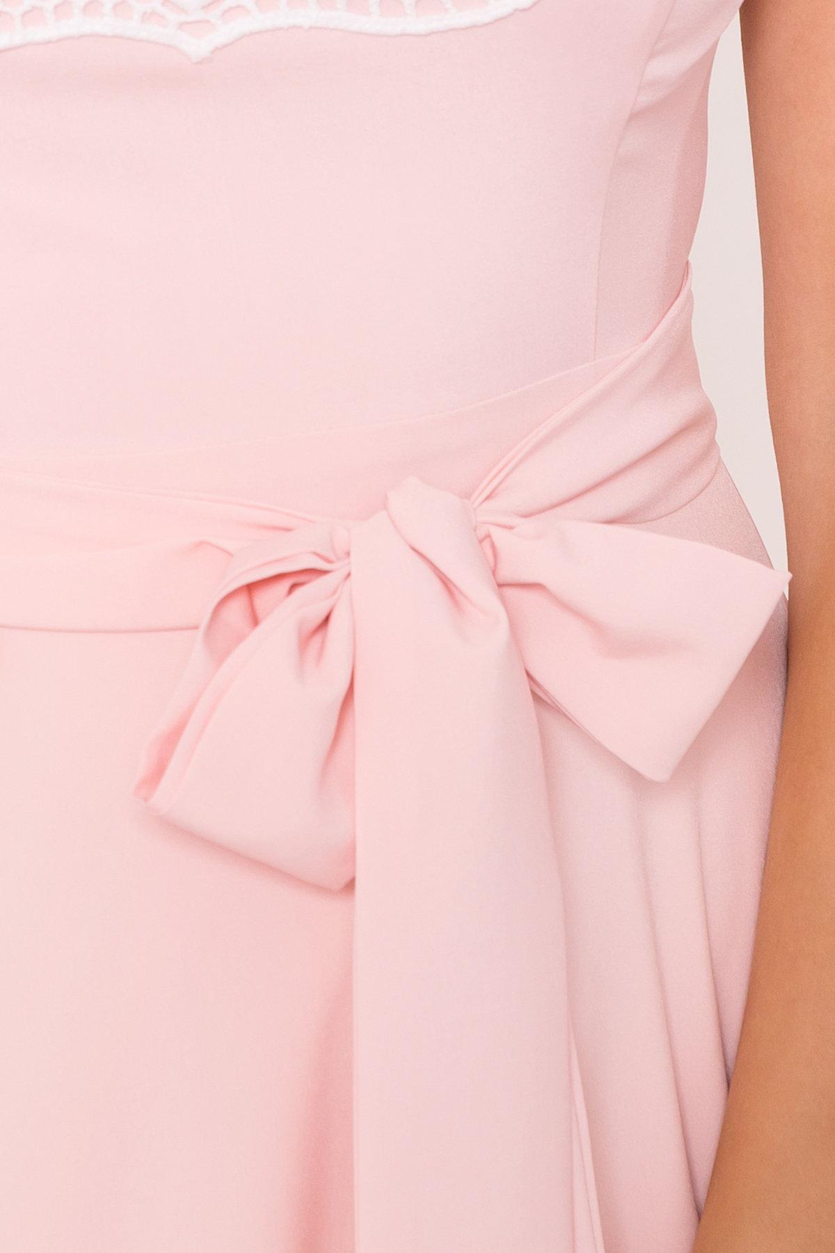 Платье Элисиас 7540 АРТ. 43463 Цвет: Персик - фото 4, интернет магазин tm-modus.ru