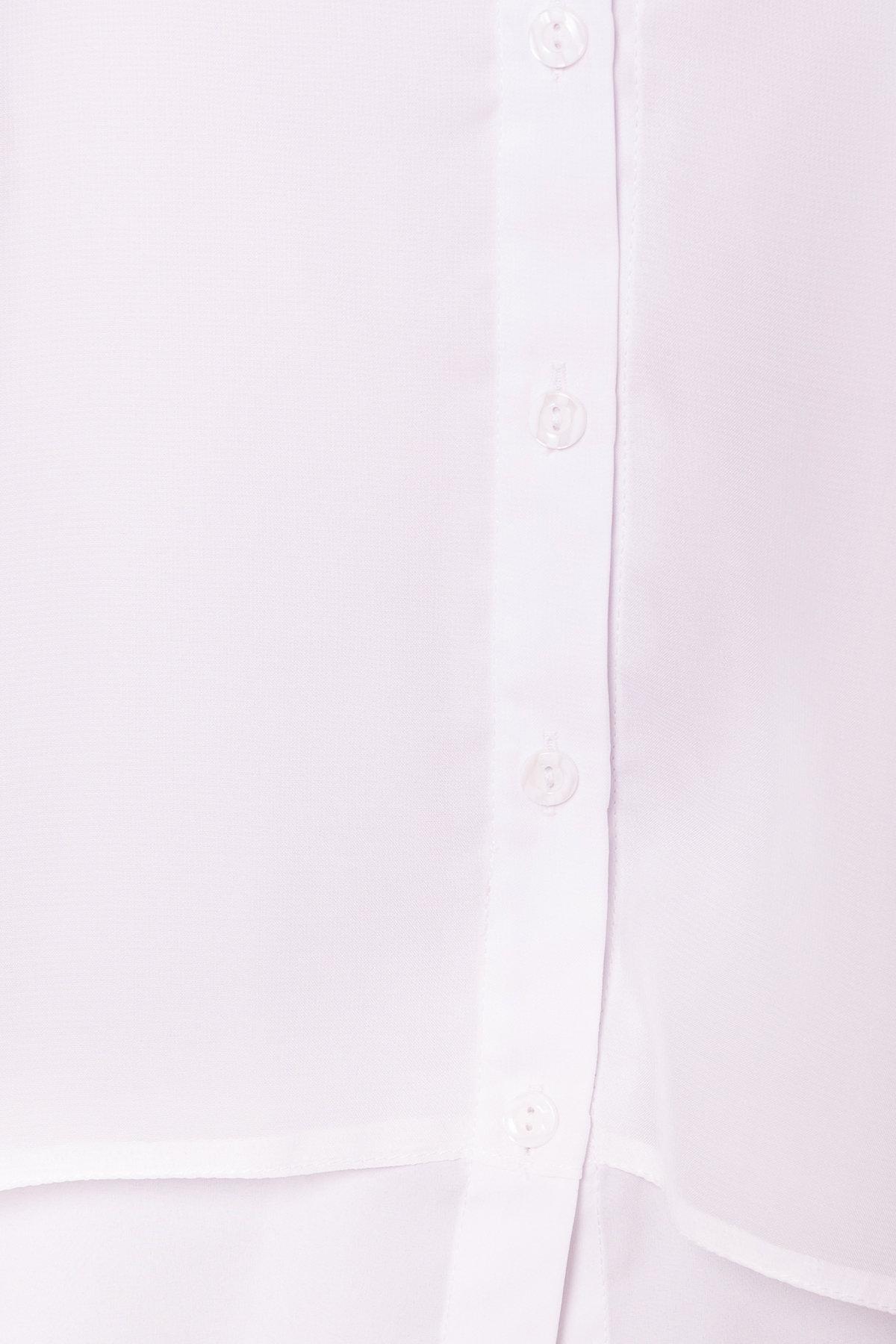 Рубашка Мелория Donna 7521 АРТ. 43455 Цвет: Белый - фото 5, интернет магазин tm-modus.ru