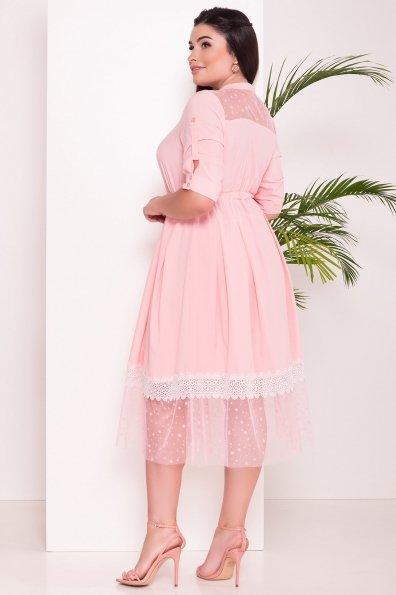 Платье Паула Donna 6937 Цвет: Персик 3