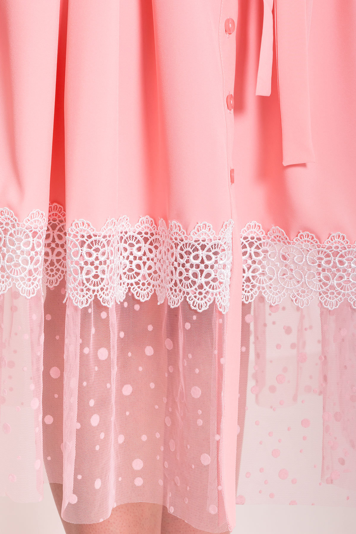 Платье Паула Donna 6937 Цвет: Персик 39