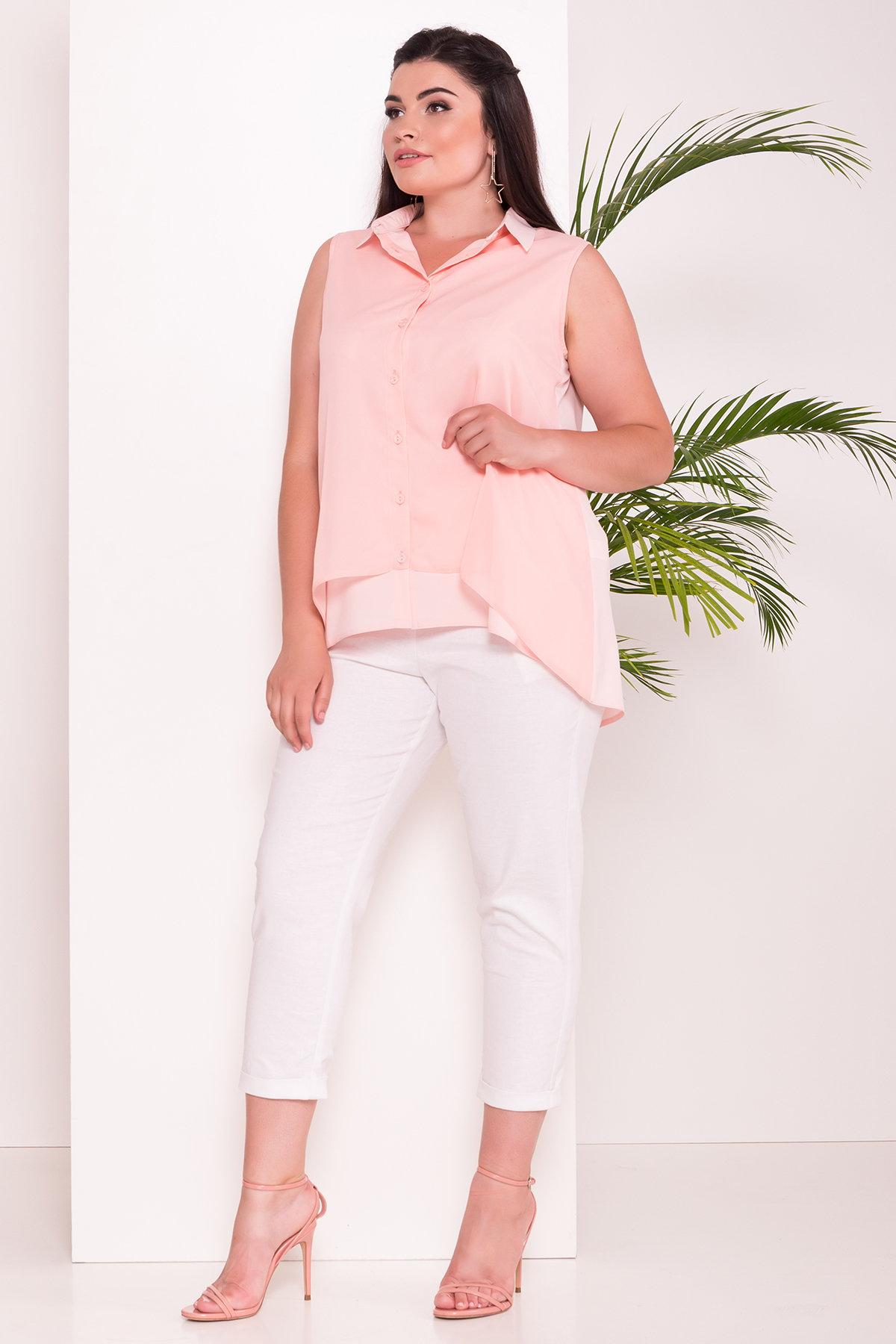 Модные женские рубашки ТМ Modus Удлиненная Рубашка Мелория Donna 7521