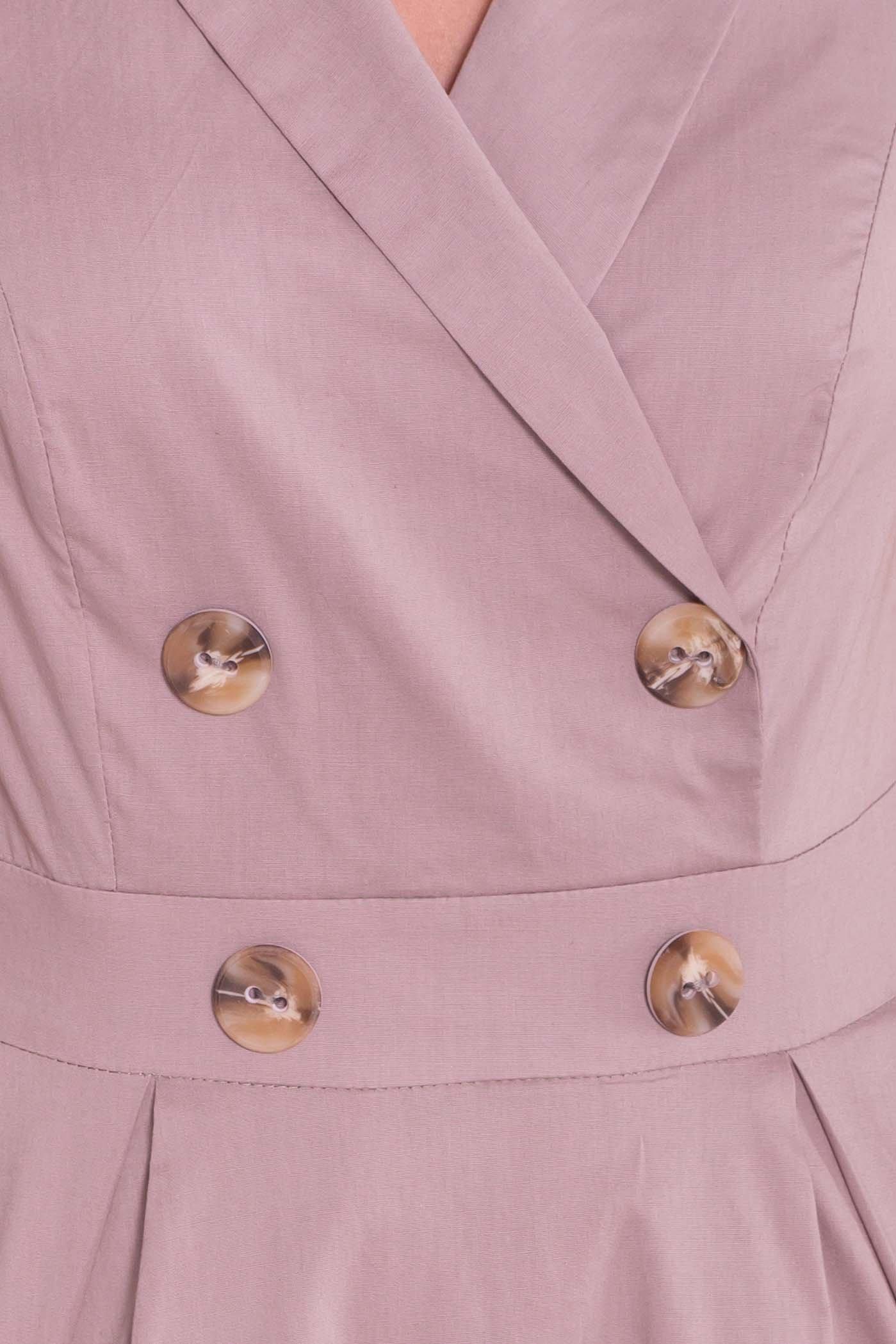 Платье Артего 7440 АРТ. 43226 Цвет: Бежевый - фото 4, интернет магазин tm-modus.ru