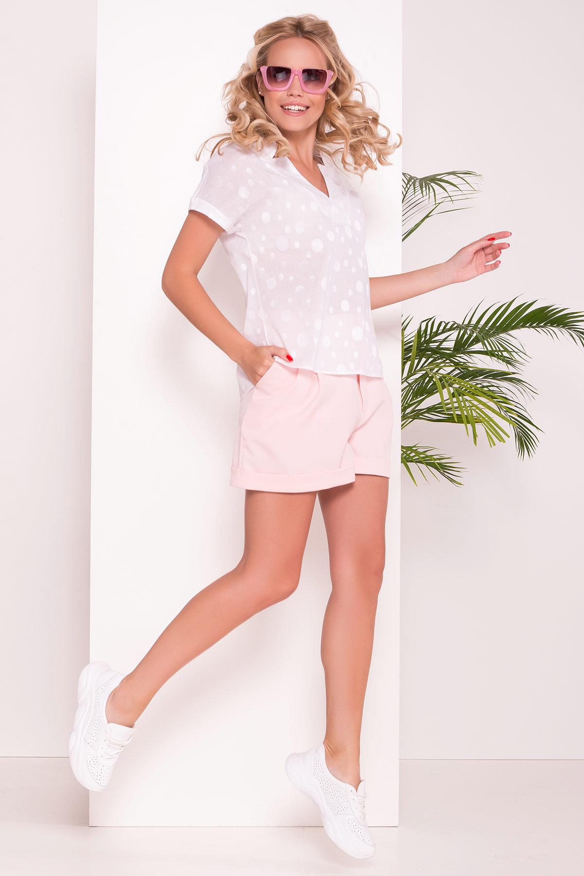 Оптом белые блузки от производителя Modus Топ Реноме 7388