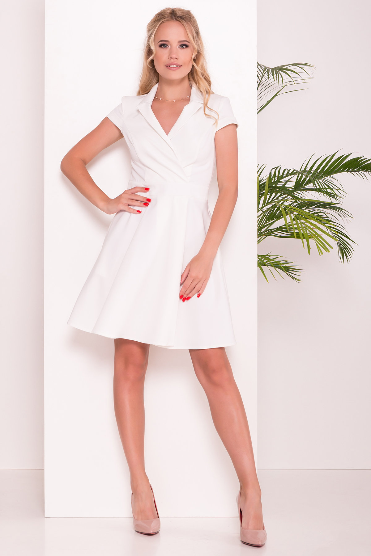 летние платья из шифона Платье Сиеста 7518