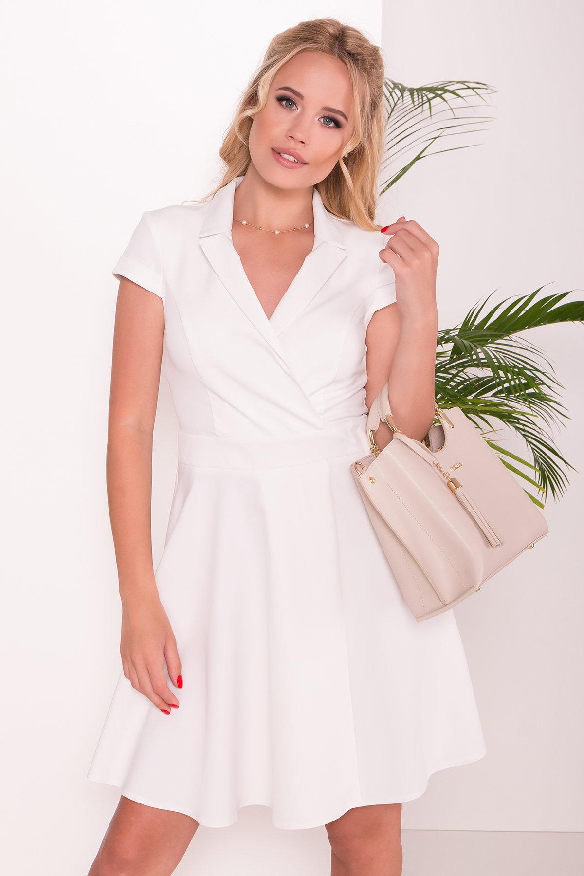 Платье Сиеста 7518 АРТ. 43470 Цвет: Молоко - фото 3, интернет магазин tm-modus.ru