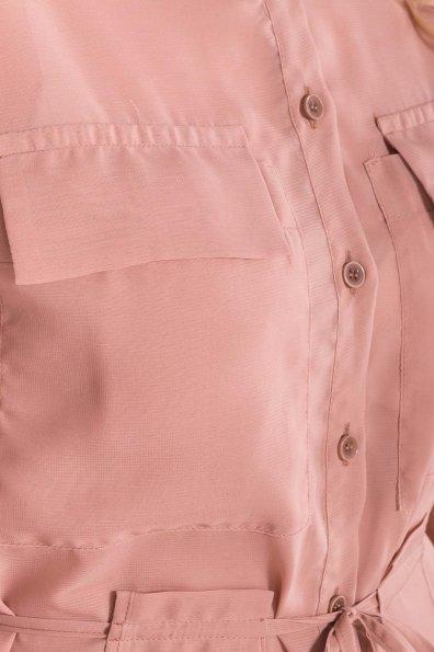 Платье-рубашка Эриал 7544 Цвет: Бежевый