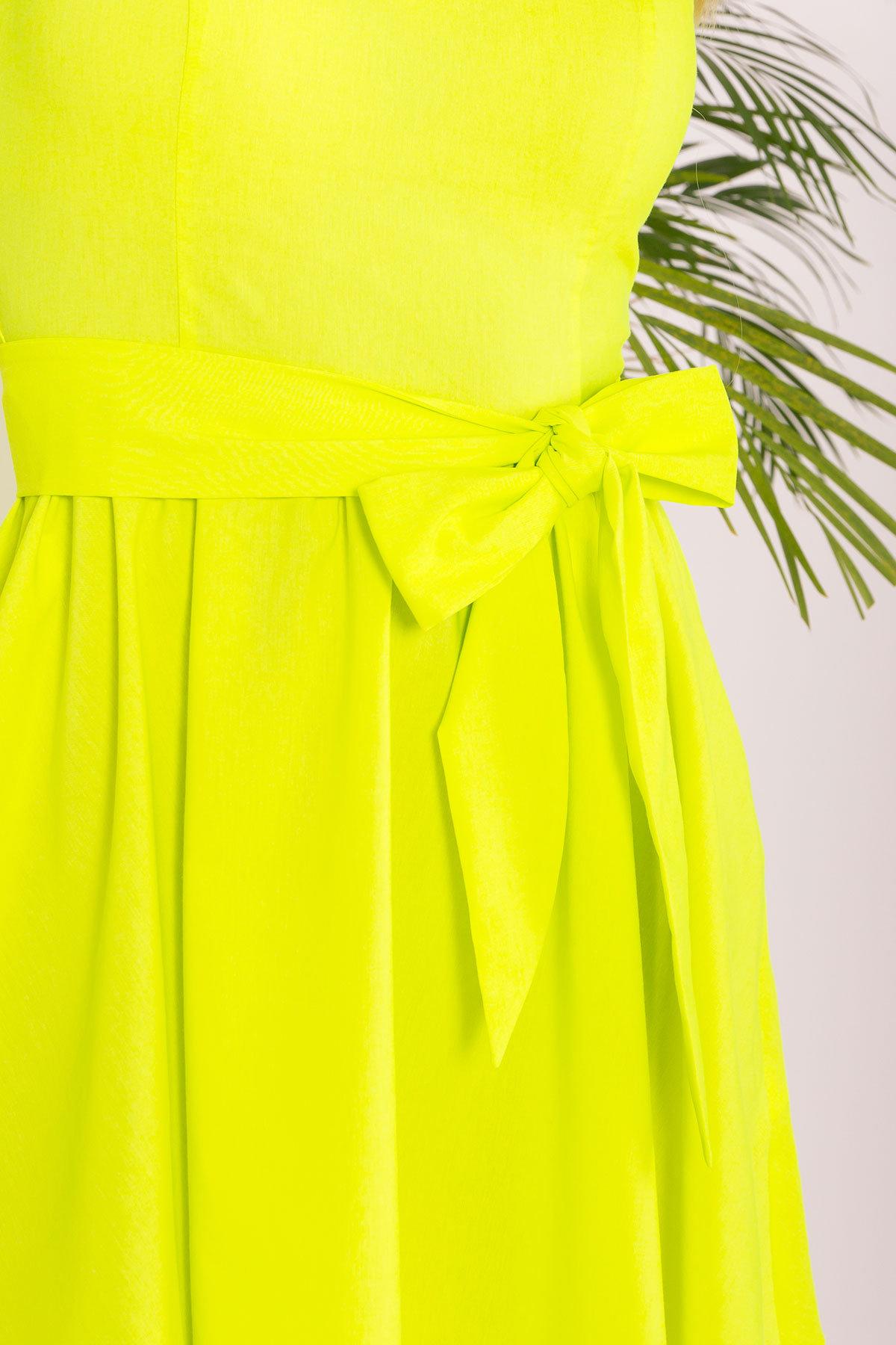 Платье Луиджи 7404 АРТ. 43508 Цвет: Лимон - фото 4, интернет магазин tm-modus.ru