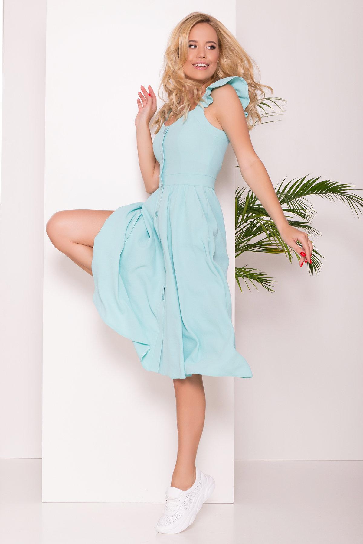 Платье Ундина 7410 Цвет: Мята 10