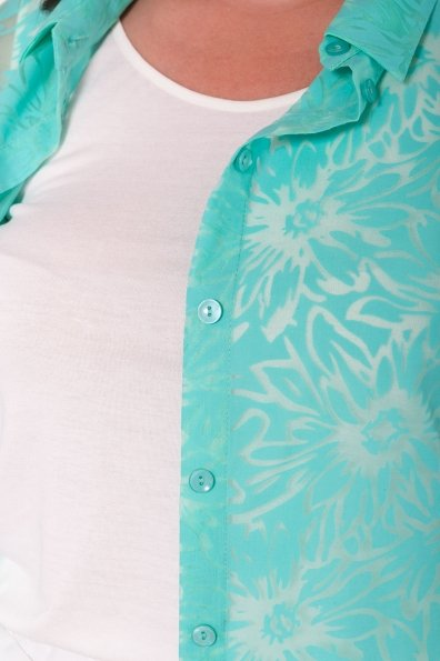 Комплект рубашка   майка  Аланья Donna 7579 Цвет: Мята