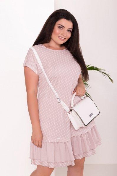 Платье Шеги Donna  7581 Цвет: Бежевый